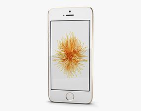 Apple iPhone SE 2 Gold 3D model