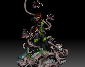 3D printable model Poison Ivy from Batman Uma Thurman DC 1