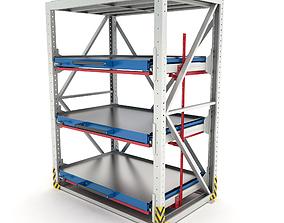 3D model Heavy-duty rack