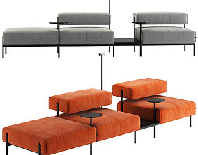 OFFECCT Lucy Sofa System office 3D