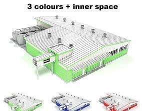 Industrial building 04 3D model
