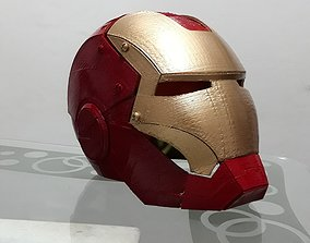 IRON MAN FACE FULL MASK 3D printable model