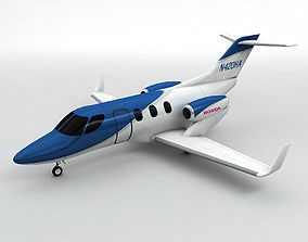 Honda Jet Aircraft 3D asset