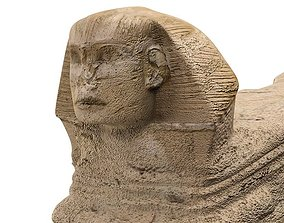 Sphinx 3D pyramid