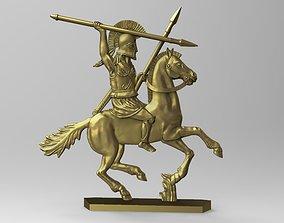 3D printable model greek rider 1