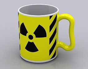 Radioactive Coffee Mug 3D model
