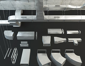 Airway Ventilation 3D asset