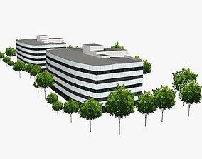3D model Waterside Towers