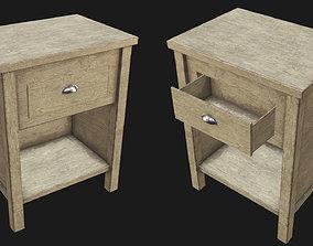 End Table 03 PBR 3D asset
