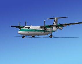 3D model Dehavilland DHC-7 Voyageur Air 1