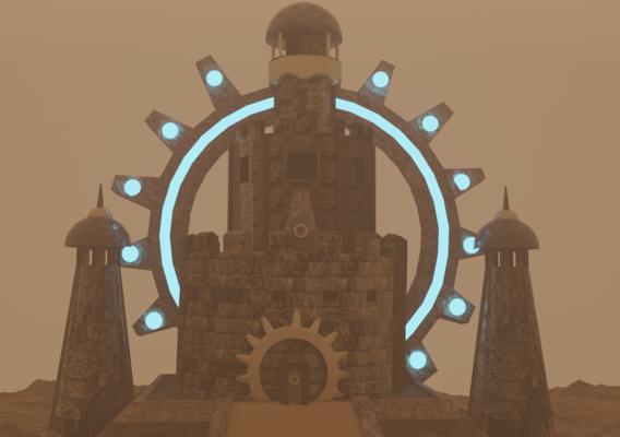 The Desert Tower