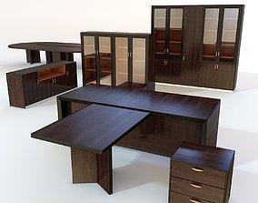 Office furniture 3 3D model