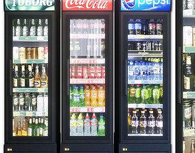 Showcase 002 Refrigerator 3D model