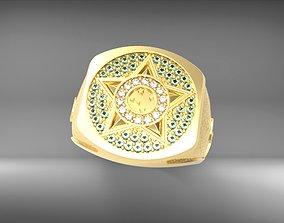 3D print model anel brasil