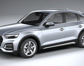 Audi Q5 sportback 2021 3D model
