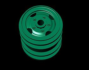 3D Models Double Wheels For B16 B36 JJRC Q61 DIY rc 2