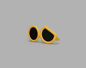 3D print model Guzma Glasses from Pokemon for cosplay