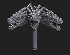 3D print model Daenerys Targaryen Brooch