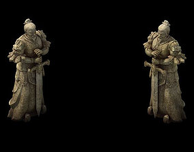 Game Model - General of the Warring States Terra cotta 3D