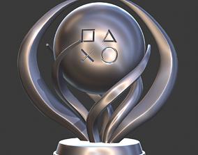 3D printable model PlayStation Platinum Trophy