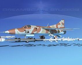 3D Mig 23 Flogger B V23 Iraq