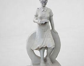 Teachers statue 3D