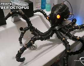 3D Printing Cyber Octopus scifi