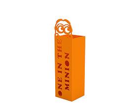Pencil box 3D print model