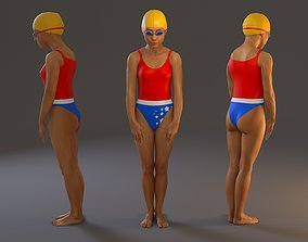 Swwimming Pool Female BCC 2130 001 3D