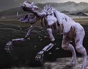 3D model Undead Boar Skeleton