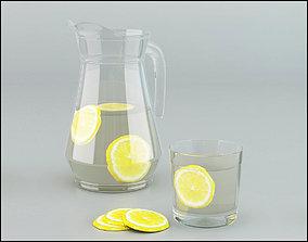Glass Jug 3D
