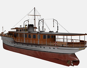 3D model Pleasure Craft boat