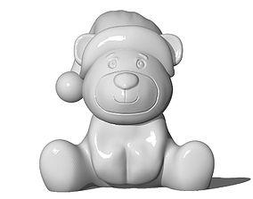 3D printable model Xmas Bear