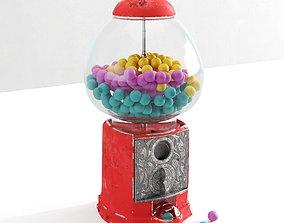 3D model Gum Machine