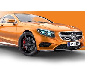 Mercedes Benz S Class Coupe 2015 3D