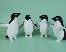 Adelie Penguins 3D print model