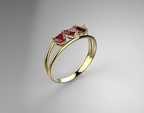 3D print model Heart Ring