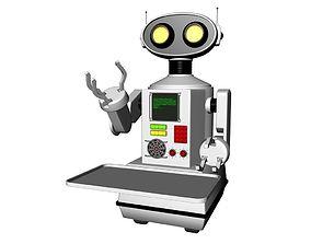cartoon robot 3D Model human