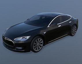 Tesla Model S 2013 3D asset