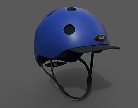 3D asset Helmet spot Generic camp bike coloring model 1