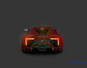 Wmotors Lykan Hyper Sport 2015 3D model
