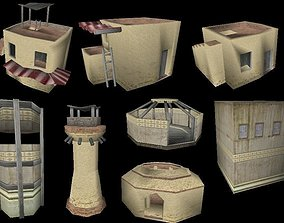 3D model Arabic City - Collection