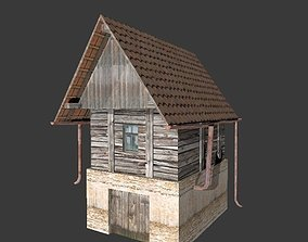3D model Old vineyard house