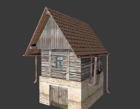 3D model Old vineyard house