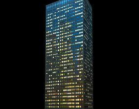 3D Glass Office Skyscraper