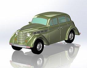 Moskvich 3D print model