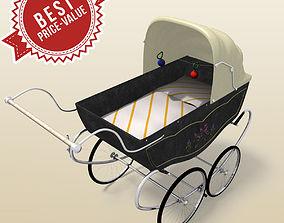 3D Retro stroller