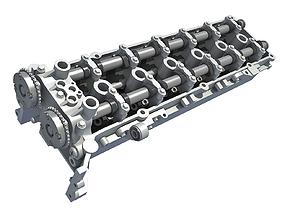 3D model Engine Cylinder Head