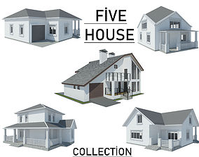 Five House Collection model