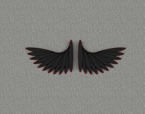 3D printable model Wings art